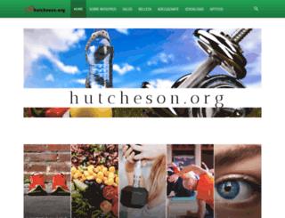 hutcheson.org screenshot