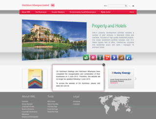 hutchison-whampoa.com screenshot