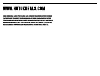 hutukdeals.com screenshot