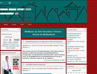 huurdersvereniging.nl screenshot