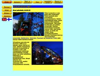 huvipuisto.net screenshot