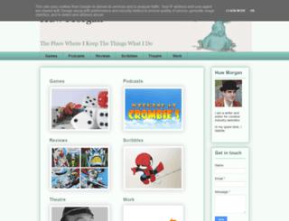 huw-morgan.co.uk screenshot