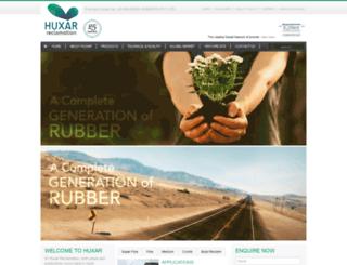 huxarrubber.com screenshot