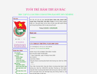 huyendoanhtb.blogtiengviet.net screenshot