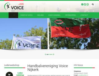 hv-voice.nl screenshot