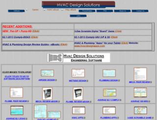 hvacdesignsolutions.com screenshot