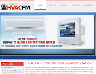 hvacfm.com screenshot