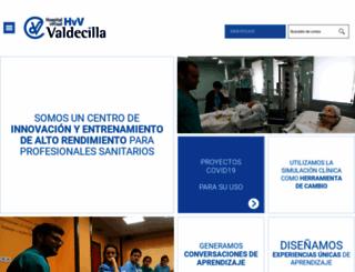 hvvaldecilla.es screenshot