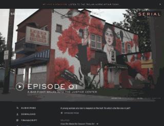 hw2.serialpodcast.org screenshot