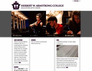 hwacollege.org screenshot
