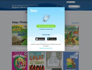 hwdsbca.libraryreserve.com screenshot