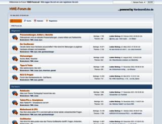 hwe-forum.de screenshot