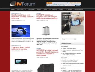 hwforum.cz screenshot