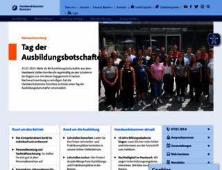 hwk-konstanz.de screenshot