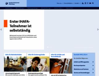 hwk-oldenburg.de screenshot