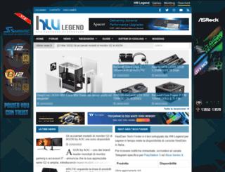 hwlegend.com screenshot