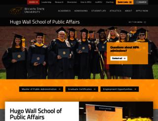 hws.wichita.edu screenshot