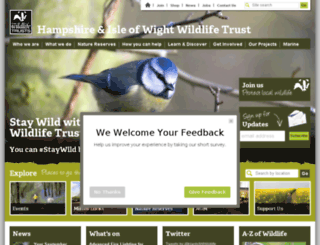 hwt.org.uk screenshot
