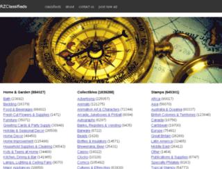 hxclassifieds.com screenshot