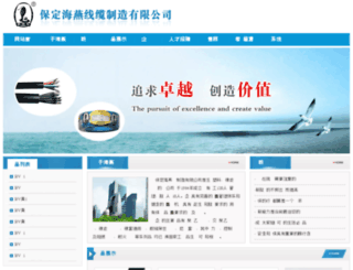 hy-cable.com.cn screenshot