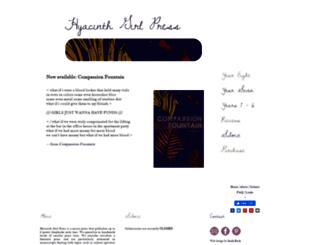 hyacinthgirlpress.com screenshot