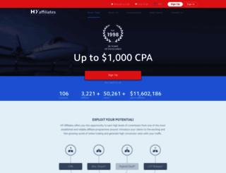 hyaffiliates.com screenshot