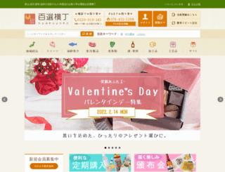 hyakuyoko.com screenshot