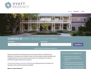 hyatt.jobs.net screenshot
