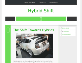hybridshift.com screenshot
