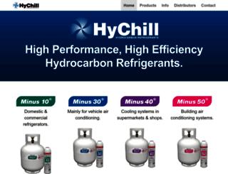 hychill.com.au screenshot