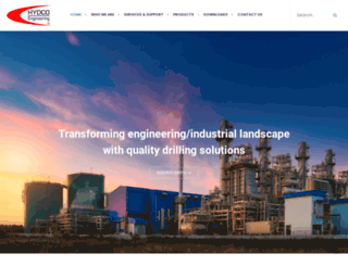 hydcoengineering.com screenshot