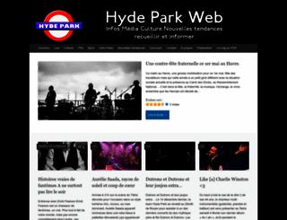hyde-park.fr screenshot