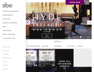 hydebellagio.com screenshot