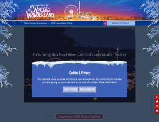 hydeparkwinterwonderland.com screenshot