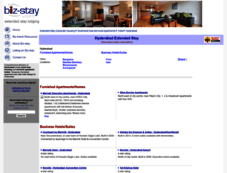 hyderabad.biz-stay.com screenshot