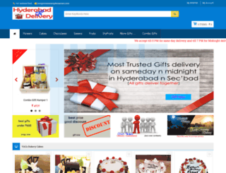 hyderabadgiftsdelivery.com screenshot
