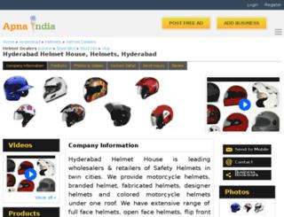 hyderabadhelmet-hyderabad.apnaindia.com screenshot