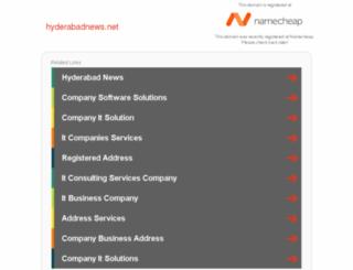 hyderabadnews.net screenshot