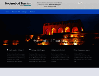 hyderabadtourism.travel screenshot