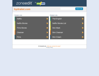 hydralist.com screenshot