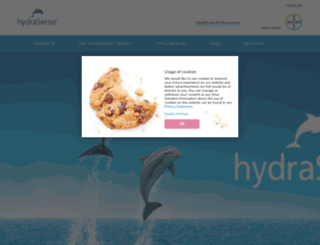 hydrasense.ca screenshot