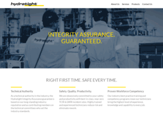 hydratight.com screenshot