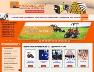 hydraulicline.com.ua screenshot