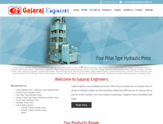 hydraulicpressindia.net screenshot