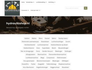 hydraulicshop.nl screenshot