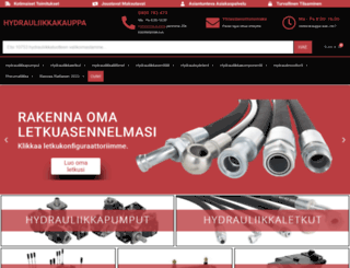 hydrauliikkakauppa.fi screenshot