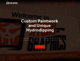 hydro-graphics.co.uk screenshot