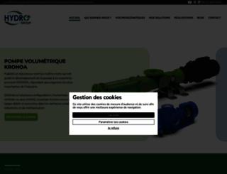 hydro-group.com screenshot