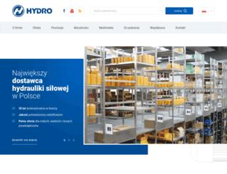 hydro.com.pl screenshot