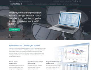 hydrocompinc.com screenshot